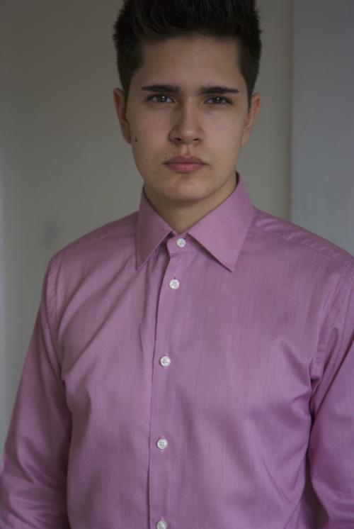 009GSV-Men-Work-Pink Shirt- Richard James Mayfair Image