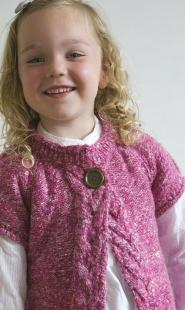 003GSV-Kids CLUB-Girls-Pink Jumper-Indigo Image
