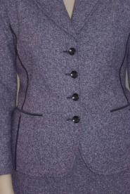 025GSV-Work-Purple-Wool blend-Tweed-Skirt and Jacket Image