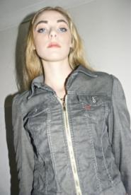 004GSV-VAMP-Dark Grey-Diesel- Jacket -Vintage 80
