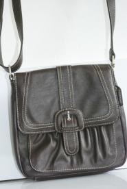 011GSV-BAG- Long handle-Brown-Saddle-Bag Image