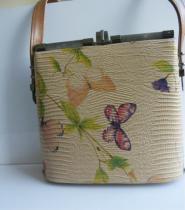 004GSV-BAGS Vintage-Butterfly-Hard Bag        Image