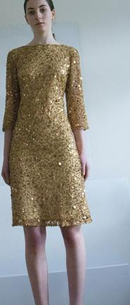 019 GSV -Gold dress -Gold sequins  Image