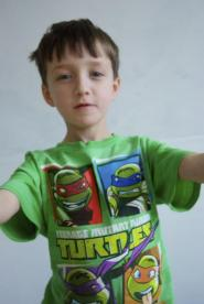 001GSV - BOYS CLUB  - Green turtles T shirt Image