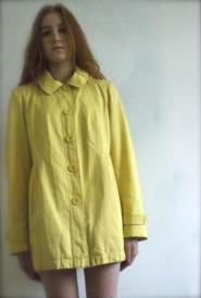 Roman Originals  -  Size 14 - 16 - Yellow - Three Quarter - length  - Coat - FUN Collection - 003GSV Image