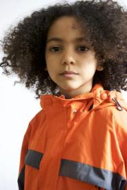005GSV-boys CLUB - Orange weather proof jacket Image