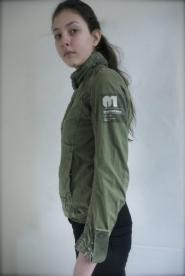 020GSV-Military- G-Star-Green-Jackey Military styling  Image