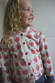 005GSV-Kids CLUB-Girls- Strawberry-Cardigan                       Image