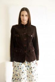 020GSV-Classic-Berkertex-Brown- Corded -Three quarter- Jacket Image