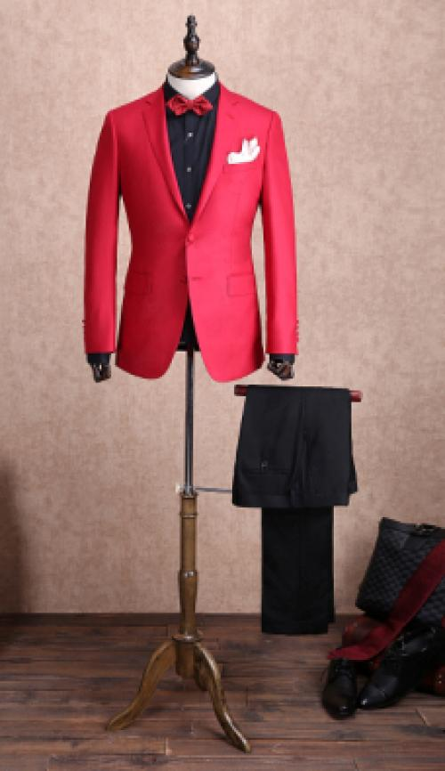 Mens Made To Measure Top Quality Suit Image